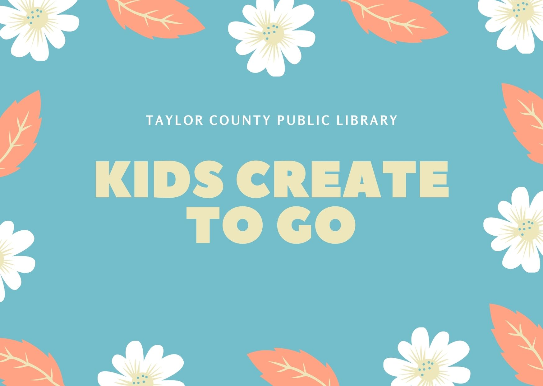 Kids Create To Go!
