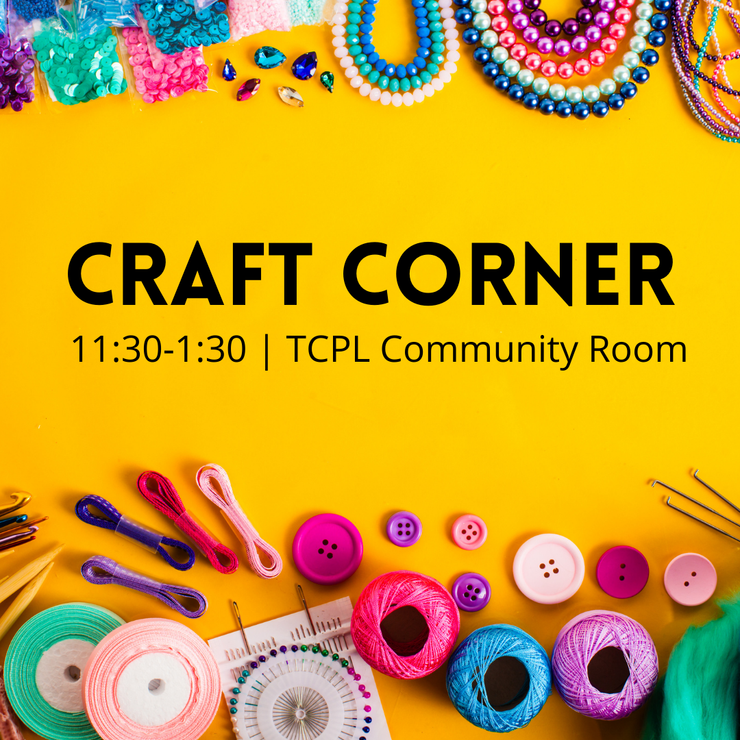 Craft Corner for Adults