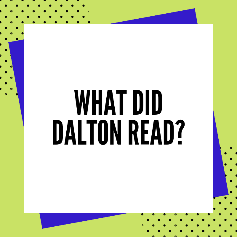 What Did Dalton Read | Books from October 2019