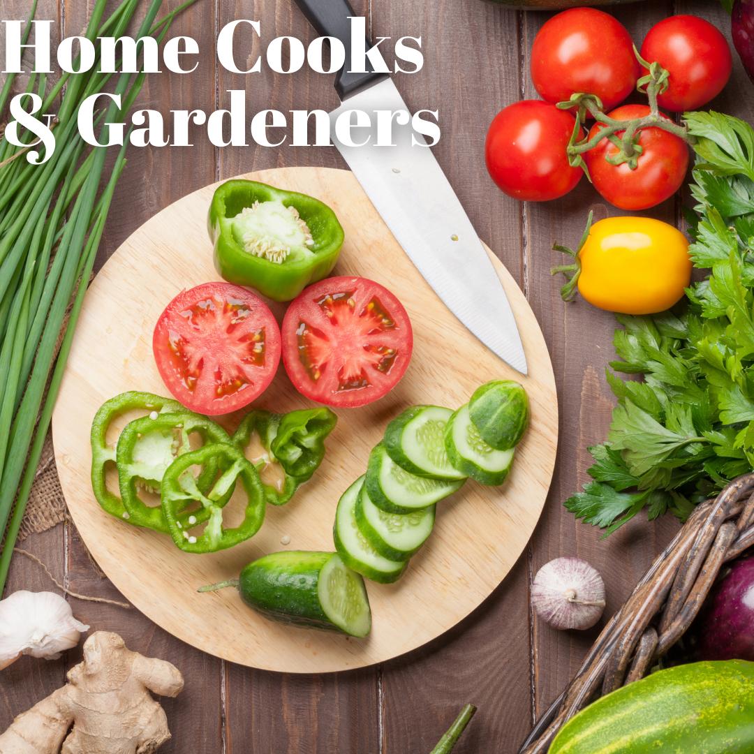 Home Cooks & Gardeners (Zoom)