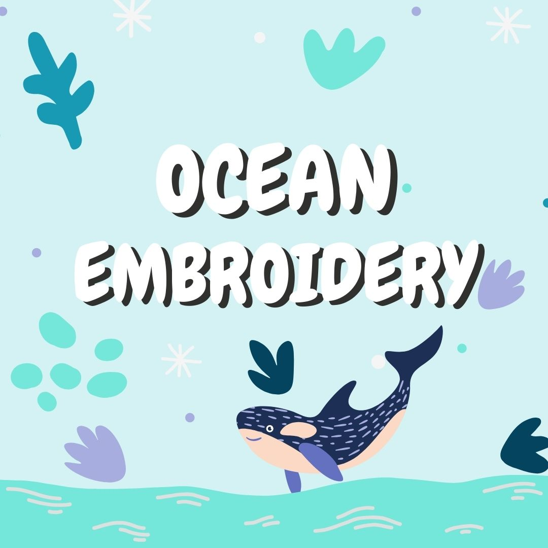 Ocean Embroidery