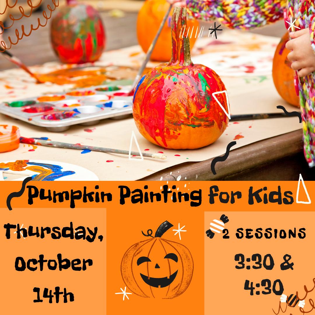Pumpkin Painting for Kids