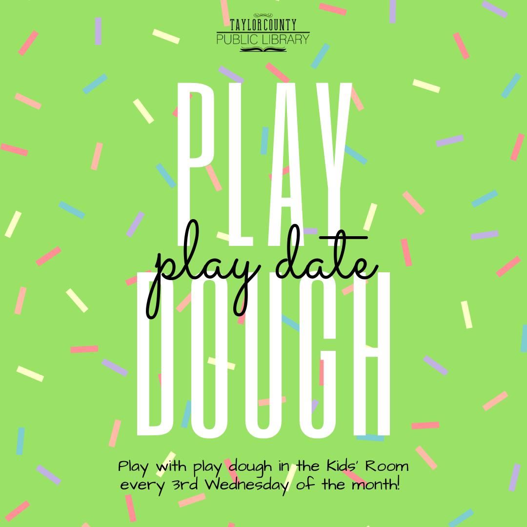 Play Dough Play Date