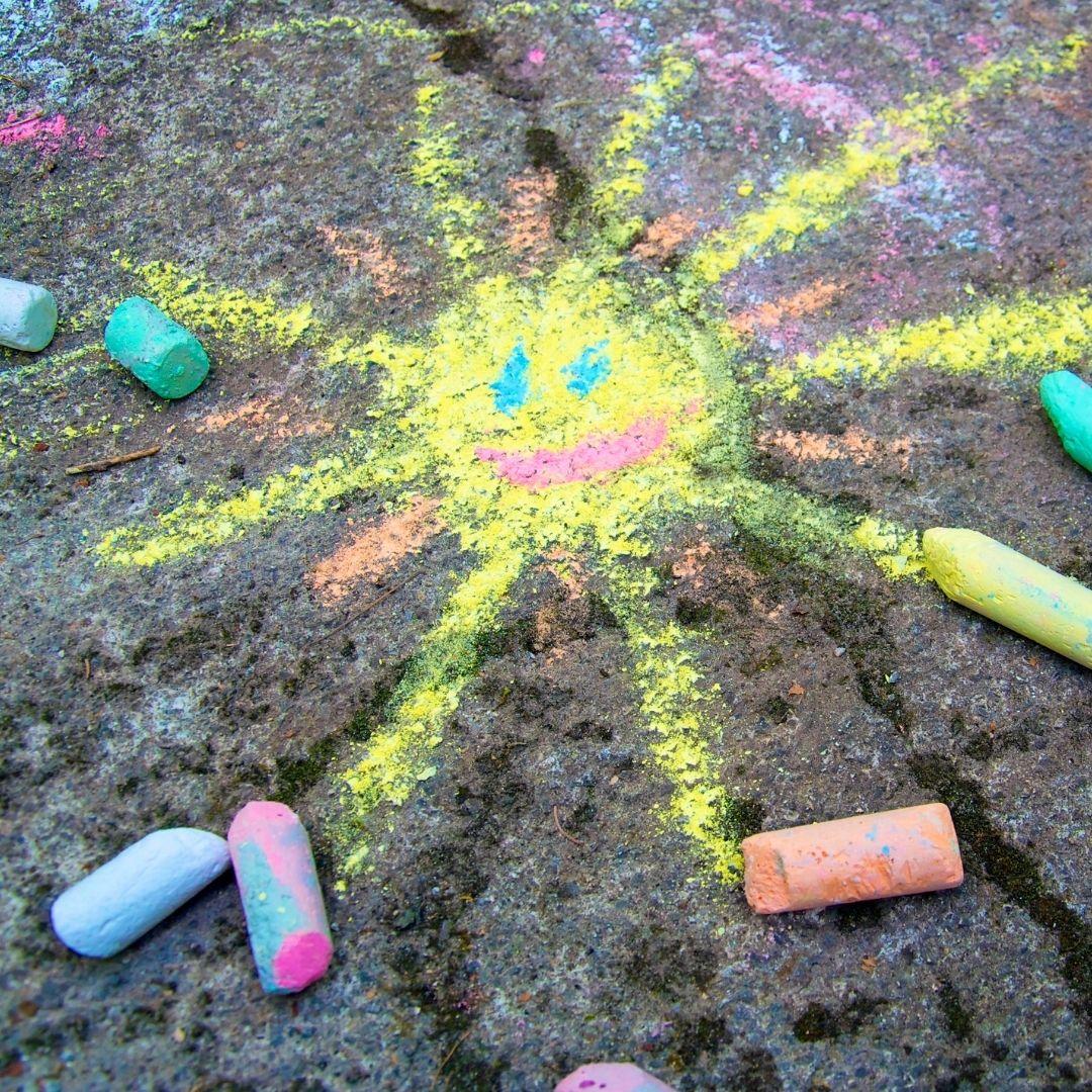 Summer Sidewalk Chalk Contest