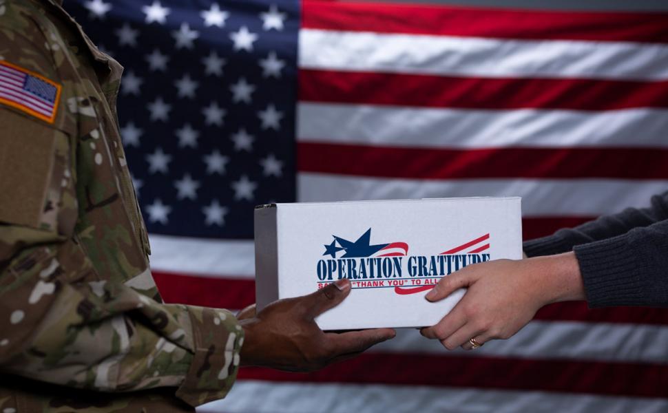 Operation Gratitude Supplies Pick Up